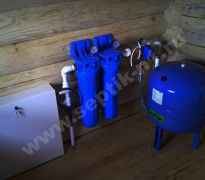 Водопровод в дом из колодца Сергиево-Посадский район