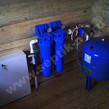 водопровод из колодца с установкой
