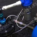водопровод из скважины с установкой