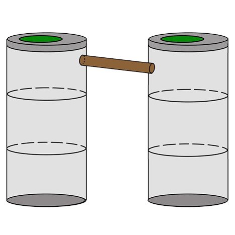двухкамерный септик 3+3