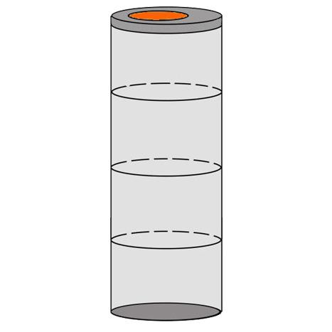 однокамерный септик 4 кольца