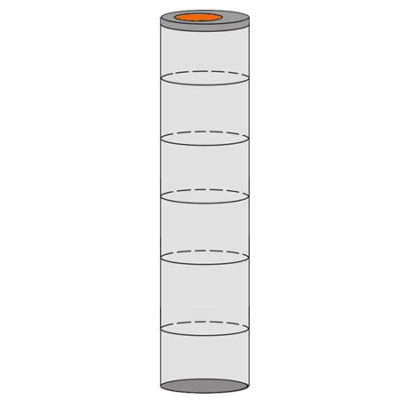 однокамерный септик 6 колец