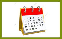 иконка календарь 1