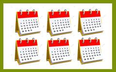 иконка календарь 6