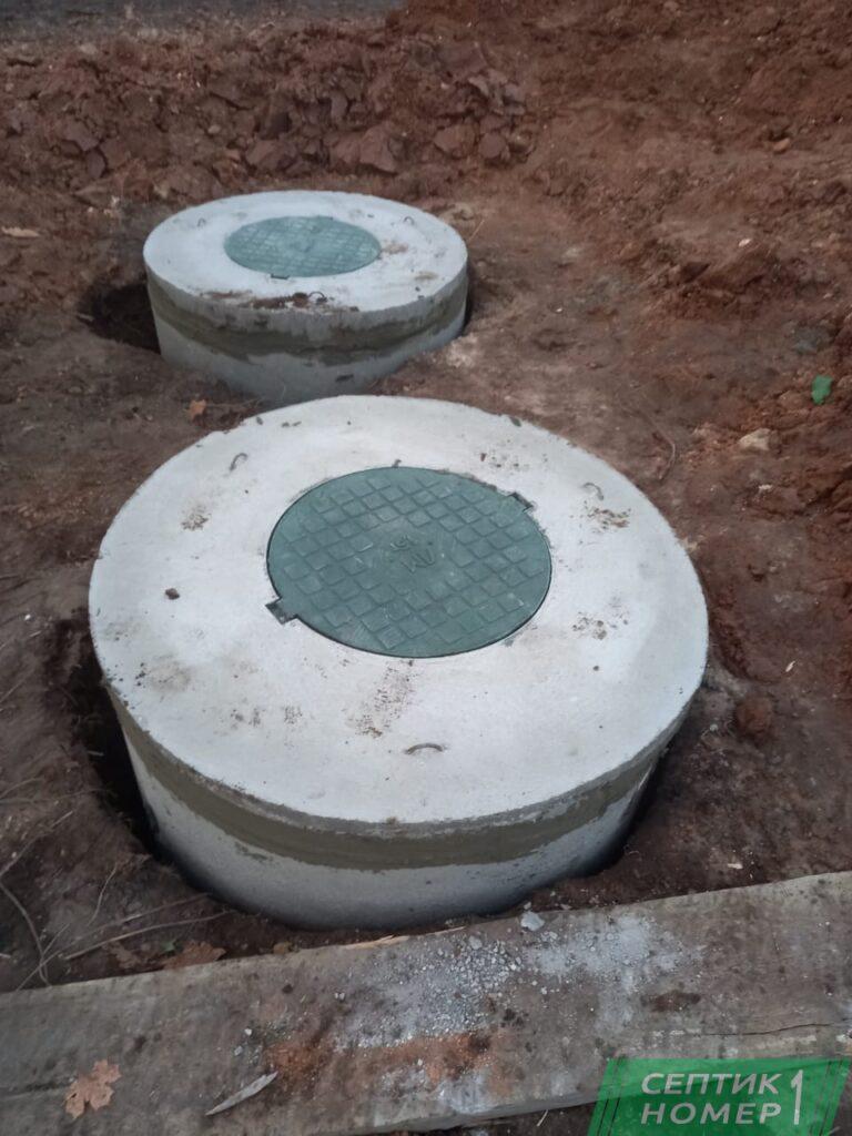 Септик из бетонных колец Сергиев Посад цена